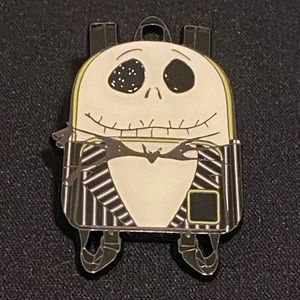 Jack and Sally Loungefly Pin